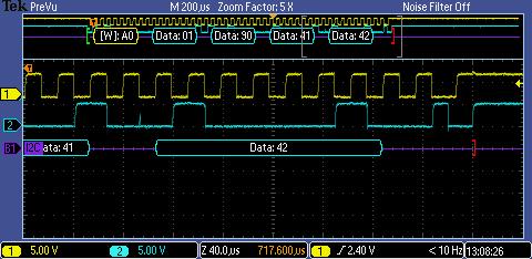 Freescale MC908JL16 and the I2C Interface